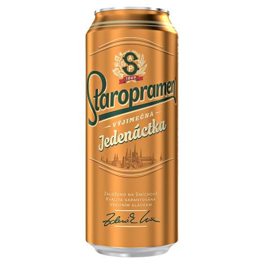 Staropramen Jedenáctka Light Draft Lager Beer 0.5 L