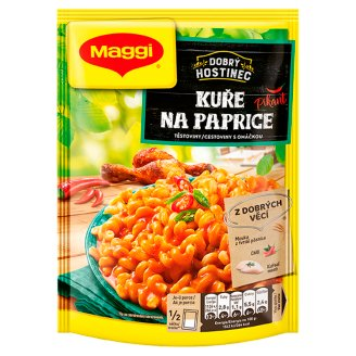 MAGGI Dobrý Hostinec Chicken on Red Pepper Spicy Pasta with Sauce Pocket 146 g
