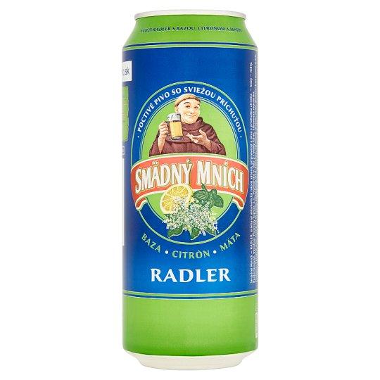 Smädný Mních Radler Eldeflower Lemon Mint 500 ml