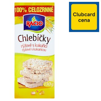 Racio Rice Cakes Rice with Maize 130 g