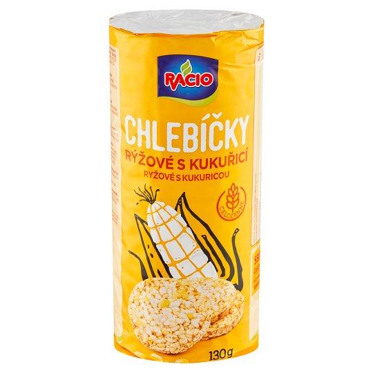 Racio Chlebíčky ryžové s kukuricou 130 g