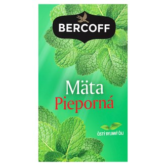 Bercoff Klember Herbal Peppermint Pure Herbal Tea 20 x 1.5 g