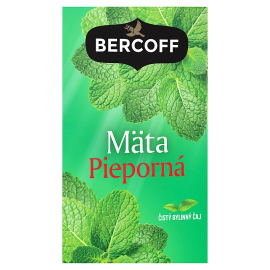 Bercoff Klember Herbal Peppermint Pure Herbal Tea 20 x 1.5 g