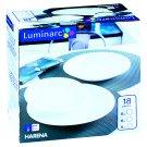 Luminarc Harena White Dinner Set 18 pcs