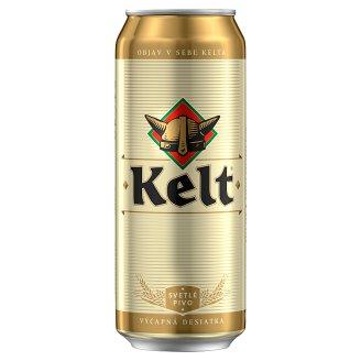 Kelt Svetlé výčapné pivo 10% 500 ml