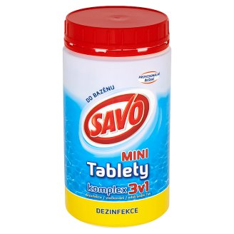 Savo Do Bazénu Mini chlórové tablety komplex 3v1 800 g