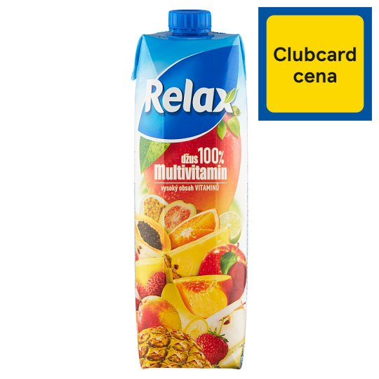 Relax Juice 100% Multivitamin 1 L