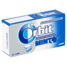 Wrigley's Orbit Professional Mints Classic Sugar Free Candies with Mint Flavour 18 pcs 18 g