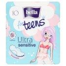Bella For Teens Ultra Sensitive Sanitary Pads 10 pcs