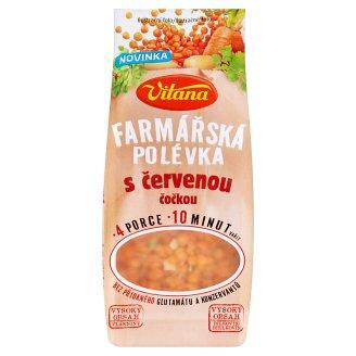 Vitana Farmárska polievka s červenou šošovicou 117 g