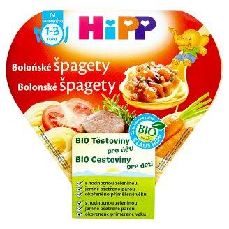 HiPP Bio bolonské špagety cestoviny pre deti 250 g