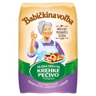 Babičkina Voľba Flour for Bread wheat Fragile 1 kg