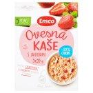 Emco Oatmeal Porridge with Strawberries 30% Less Sugar 5 x 55 g