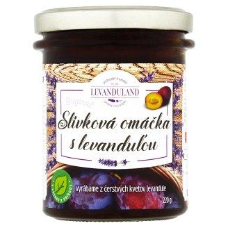 Levanduland Originál slivková omáčka s levanduľou 220 g