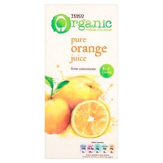 Tesco Organic Pure Orange Juice 1 L