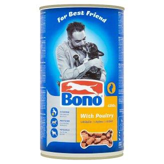 Bono Adult konzerva pre psy s hydinou 1250 g