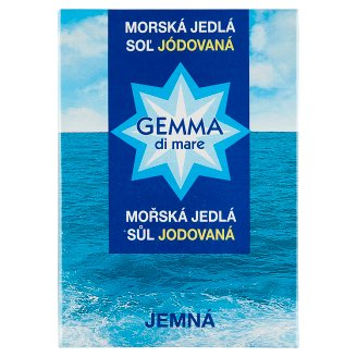 Gemma Di Mare Edible Sea Salt Iodinated Fine 1000 g