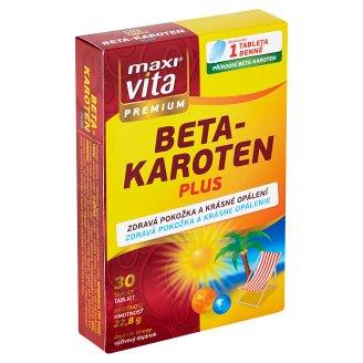 MaxiVita Premium Beta-karotén plus 30 tabliet 22,8 g