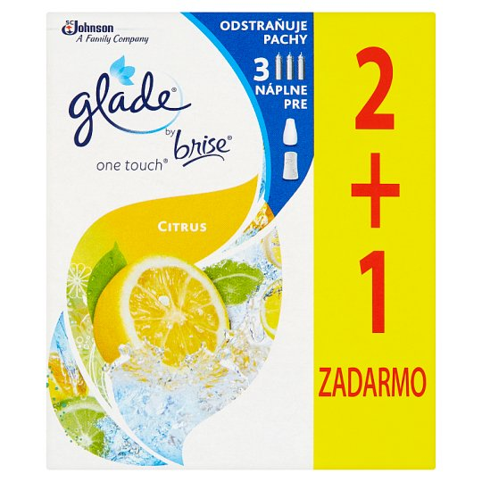 Glade by Brise One Touch Citrus náplň 3 x 10 ml
