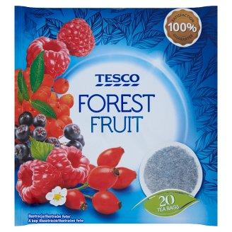 Tesco Ovocný čaj s príchuťou lesných plodov aromatizovaný porciovaný 20 x 2 g