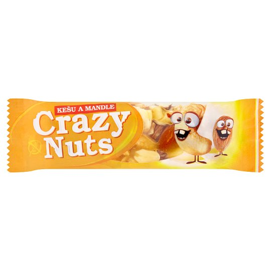 Druid Crazy Nuts Bar with Cashew, Almonds and Peanuts 30 g