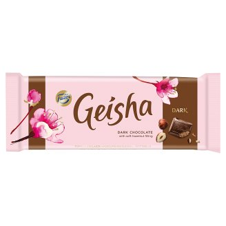 Fazer Geisha Dark Chocolate with Hazelnut Filling 100 g