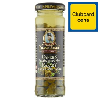 Kaiser Franz Josef Exclusive Capers in Salty-Sour Brine 100 g