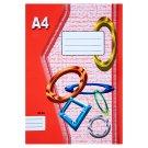 Papírny Brno 424e linajkovaný zošit A4 20 listov