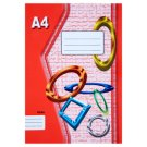 Papírny Brno 424e Lined Exercise Book A4 20 Sheets