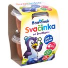 Hamánek Svačinka Baby Food Apple Plum 2 x 130 g