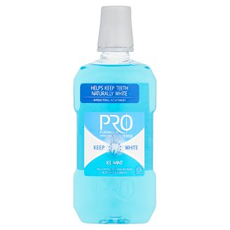 Tesco Pro Formula Keep white ústna voda 500 ml