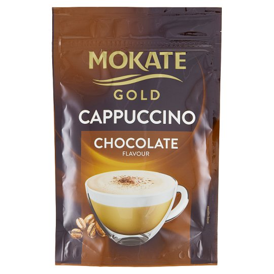 Mokate Caffelleria Gold Cappuccino with Chocolate Flavour 100 g