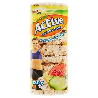 Bona Vita Active Corn Whole Grain Breads with Rice 120 g
