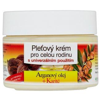 Bione Cosmetics Bio Arganový olej + Karité pleťový krém pre celú rodinu 260 ml