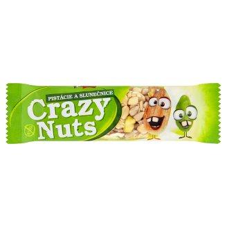 Druid Crazy Nuts Tyčinka so slnečnicovými semienkami, mandľami, arašidmi a pistáciovými orieškami 30