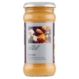 Tesco Finest Royal Korma Cooking Sauce 350 g