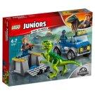 LEGO Juniors Raptor a záchranárske vozidlo 10757