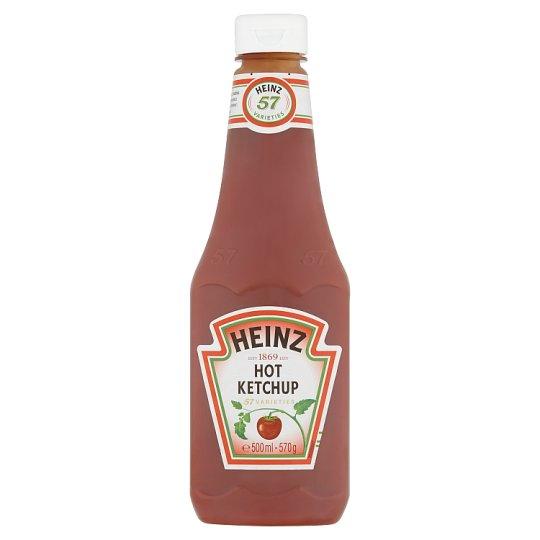 Heinz Rajčinový kečup ostrý 570 g