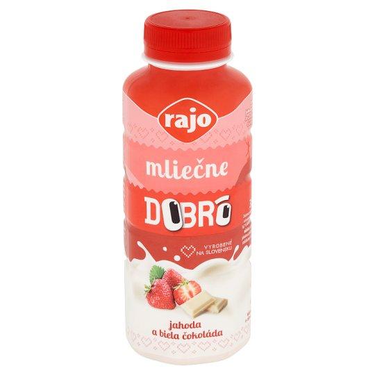 Rajo Dobrô Milky Strawberry and White Chocolate 350 ml