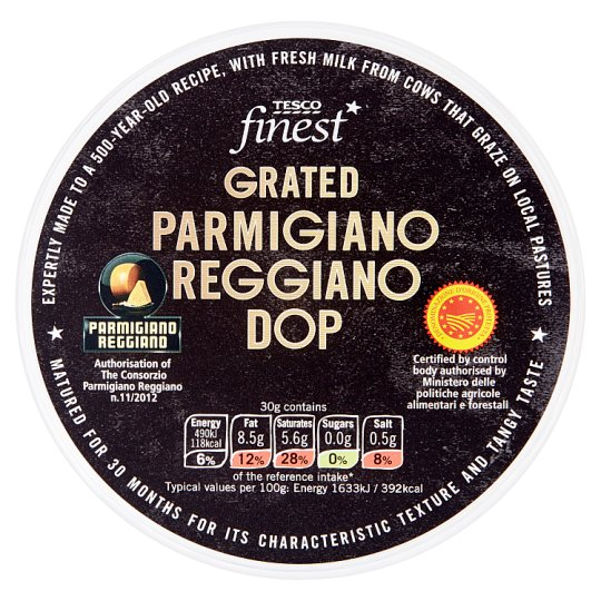 Tesco Finest Parmigiano Reggiano Grated Cheese 60 g