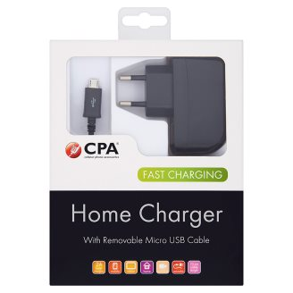 CPA Cestovná nabíjačka so snímateľným micro USB káblom