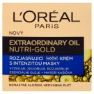 L'Oréal Paris Extraordinary Oil Nutri-Gold Brightening Night Cream with Mask Intensity 50 ml