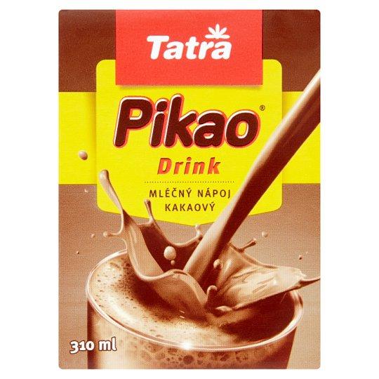 Tatra Pikao Drink Durable Flavoured Milk Cocoa Skimmed 310 ml