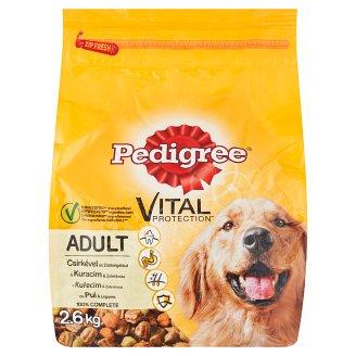 Pedigree Vital Protection S kuracím a zeleninou kompletné krmivo pre dospelých psov 2,6 kg