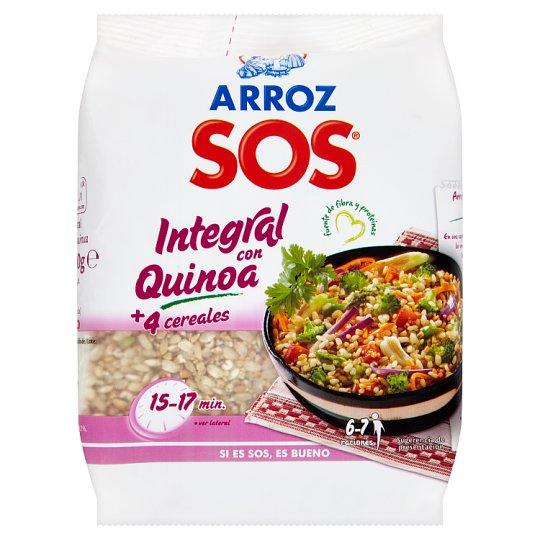 SOS Hnedá ryža s obilninami a quinoou 500 g