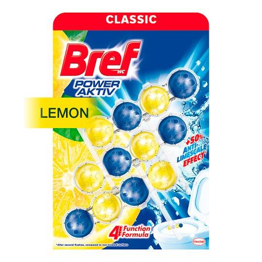 Bref Power Aktiv WC Lemon 4 Function 3 x 50 g