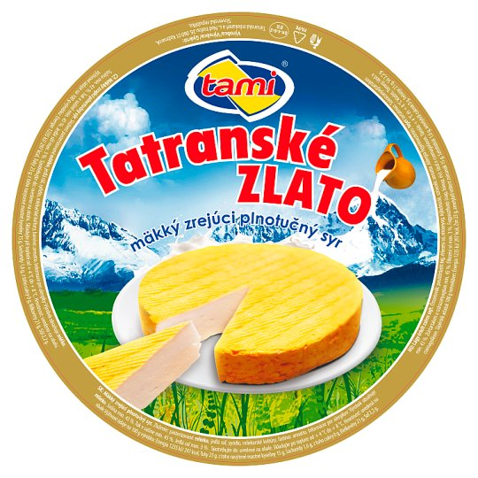 Tami Tatras Gold Soft Ripened Cheese Full-Fat