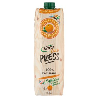 RIO FRESH 100% Chilled Juice Orange with Pulp 1 L