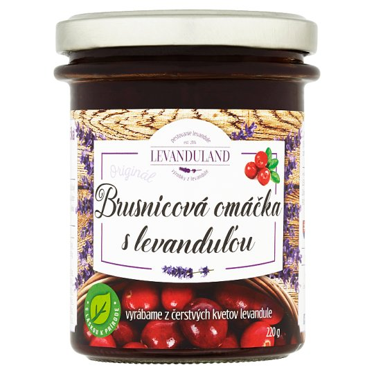 Levanduland Original Cranberry Sauce with Lavender 220 g