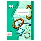 Papírny Brno 425e Squared Exercise Book A4 20 Sheets